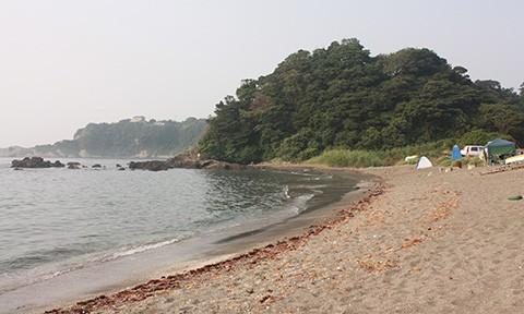 夏休み絵日記(三浦海岸でBBQ)