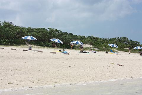 コンドイ浜、ビーチ