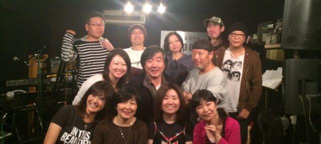 ライブ、セッション日記 2013その27〜第6回 デリコセッション