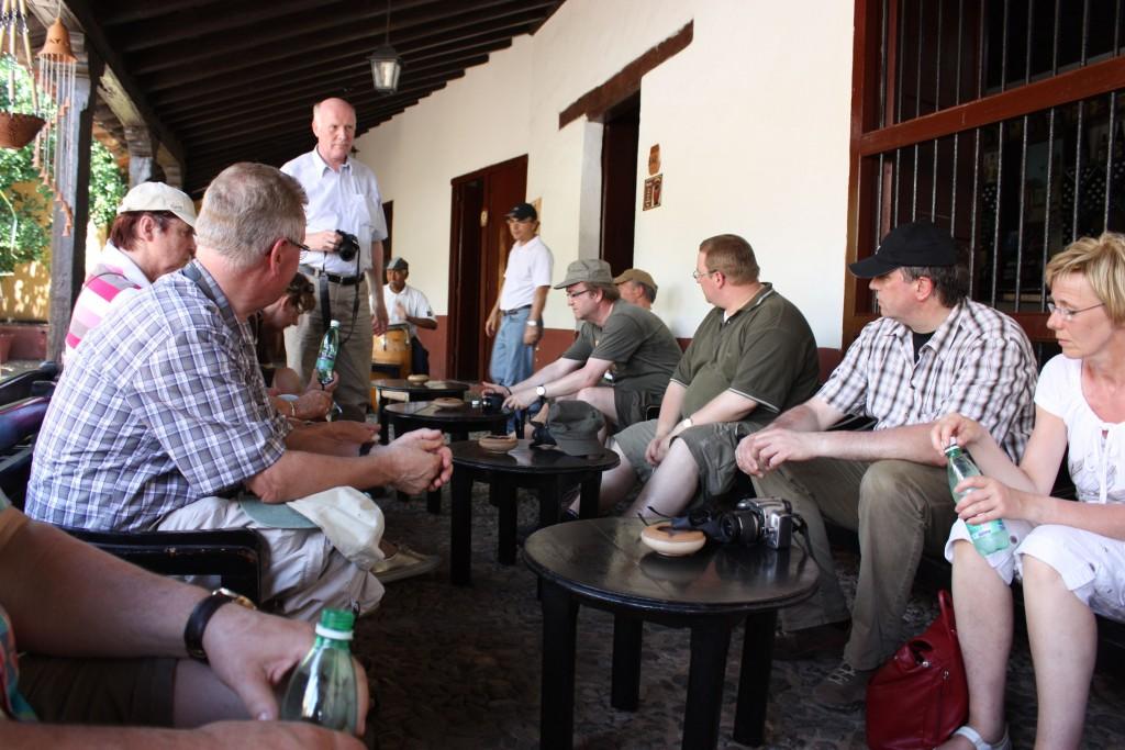 トリニダのバル「カンチャンチャラ」で自分たち以外のお客さんはドイツの方