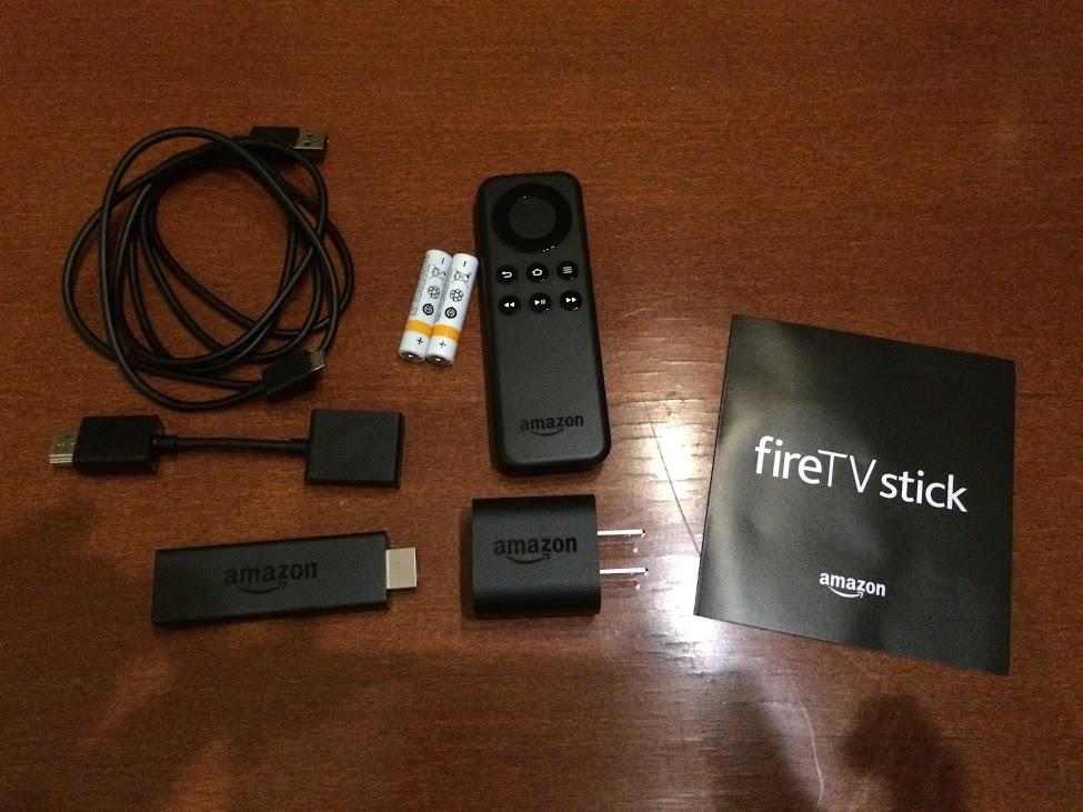 fireTVstick内容物
