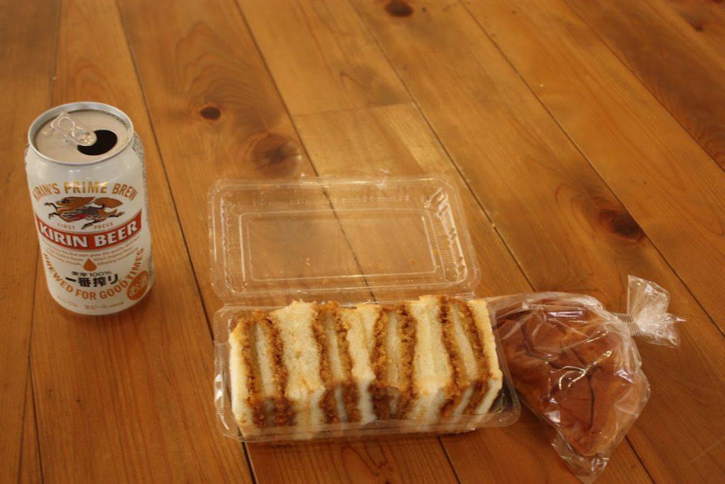 昼食(藤屋ベーカリー)