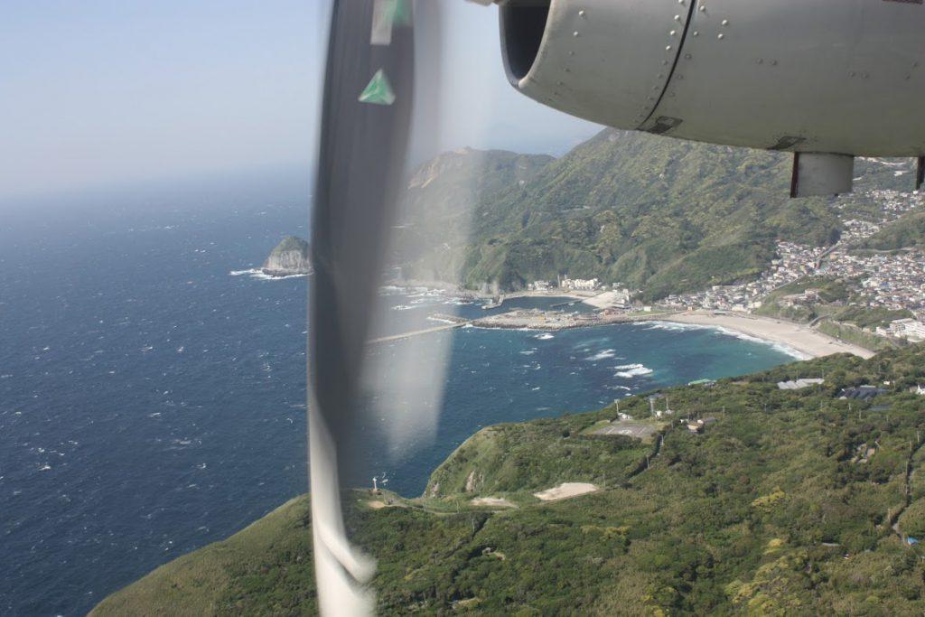 村落、神津島港