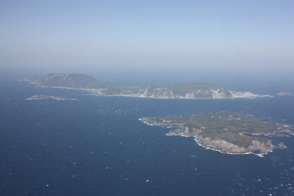 式根島、新島、地内島