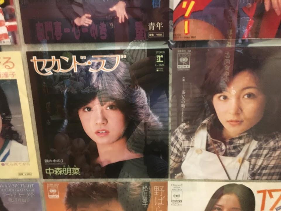 中森明菜、太田裕美